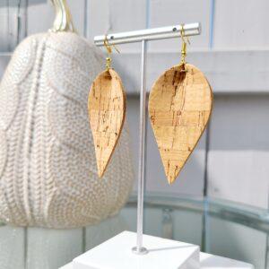 Natural Cork Earrings